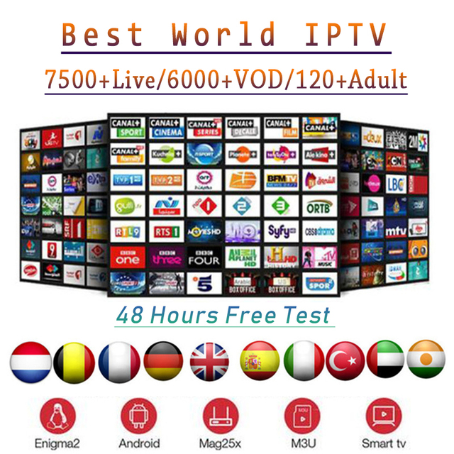 8000 Channels World Global Iptv Europe Usa Uk Germany Italy Nordic Latin 3 6 12 Month Subscription For M3u Mac Android Smart Tv Buy Cheap In An Online Store With Delivery Price Comparison