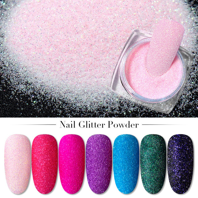 2g Glitter for Nails Holographic Dip Powder Mirror Polishing Chrome Pigments Nail Art Decorations Laser Dazzling Dust