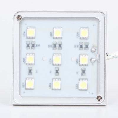 Led Backlight 12V Square Shape 9leds 5050SMD 1.8W For Kitchen Lighting And Cabinet Lighting 1pcs/lot