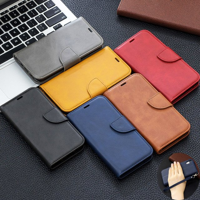 For Fundas Motorola Moto G6 Plus Case Leather Flip Case For Moto G6 Wallet Book Magnetic Cover for Coque Moto G6 Plus Phone Case