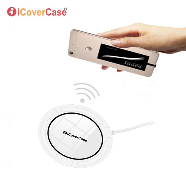 Wireless Charger For Samsung Galaxy J3 J5 J7 A3 A5 A7 2017 2016 2015 Charging Pad Phone Charger Silicone Case Wireless Receiver