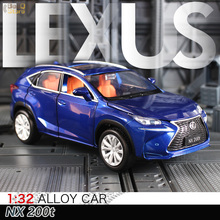 NX200t 1:32 Diecast Alloy Car Model Diecasts Toy Vehicles Car Model with Sound Light Collection Toys for Children Gift Birthday