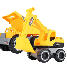 Baby Children Classic Simulation Engineering Car Toy Excavator Model Tractor Toy Dump Truck Model Car Toy Mini Gift for Boy Gift
