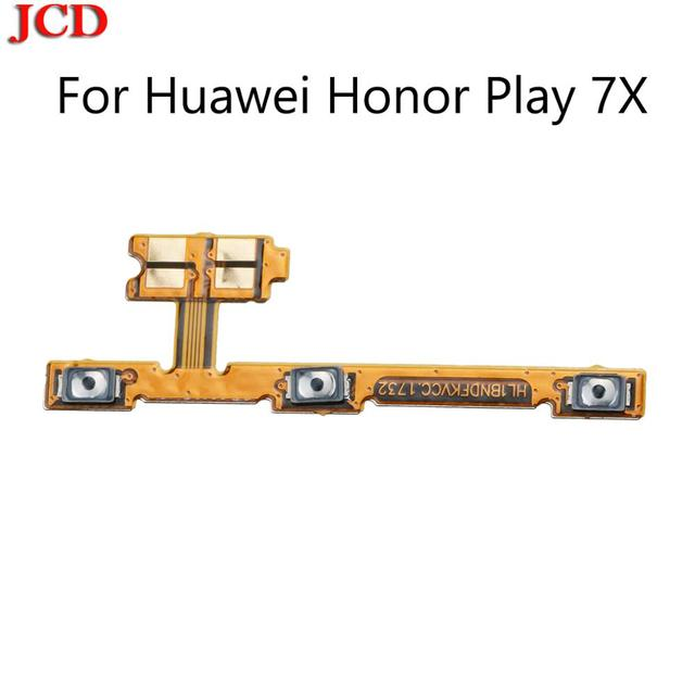 JCD Power Volume flex  New For Huawei honor 7X Play Phone New Power on/off+Volume up/down Switch Button Flex Cable Repair Parts