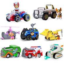 Paw patrol toys set Everest Tracker dog action figure paw patrol birthday anime figure patrol paw patrulla canina toy gift