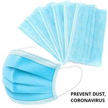 10/20/50pcs Antivirus Mask 1 Disposable Mask 3 Layer Nonwove Ply Filter Mouth Masker Face Mask Dust BFE95 Meltblown Mouth Masks