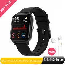 Hot P8 Fitness Smart Watch Man 1.4 Inch Tracker GTS Smartwatch Heart Rate Blood Pressure Ios Android Wear Watch for Apple Xiaomi