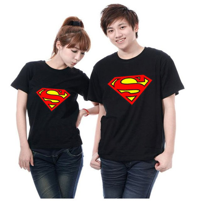 Fashion Superman T-shirt For Men & Women With Many Colors,Lovers Cotton Tshirts XS~XXL Leisure Novelty Tops HTS520