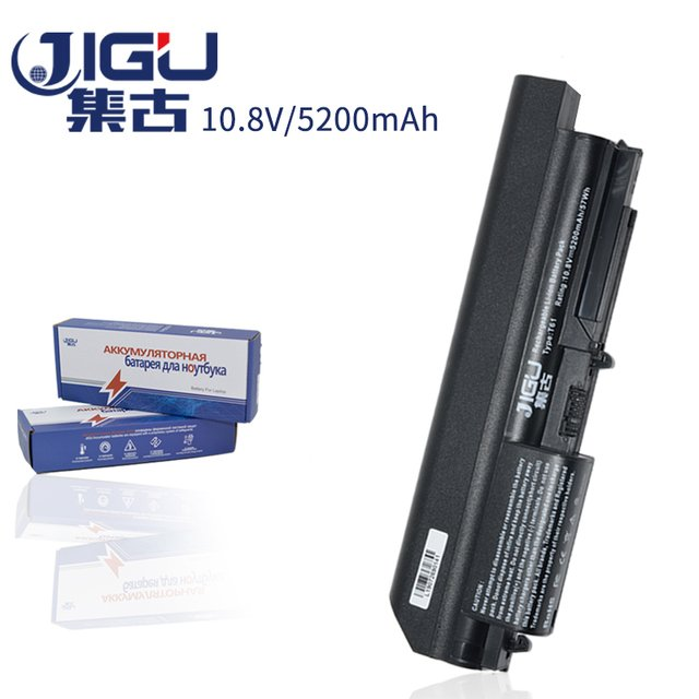 JIGU Black Laptop Battery FOR IBM ThinkPad R60 T60 T60p R61e T61 T61p R61i FOR LENOVO R500  R61e T61 T61p R61i R61 T500 W500