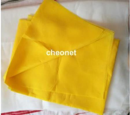 Free shipping! Discount 5 meters yellow polyester silk screen printing mesh 80T 200M