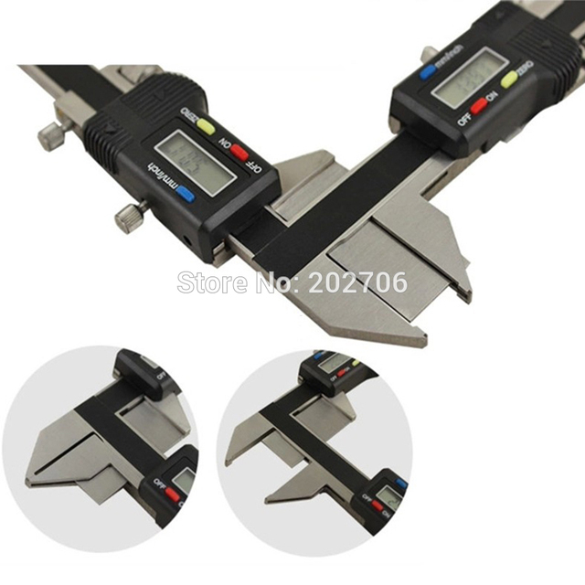 Electronic M1-25 Digital Gear Tooth Thickness Measure Vernier Caliper