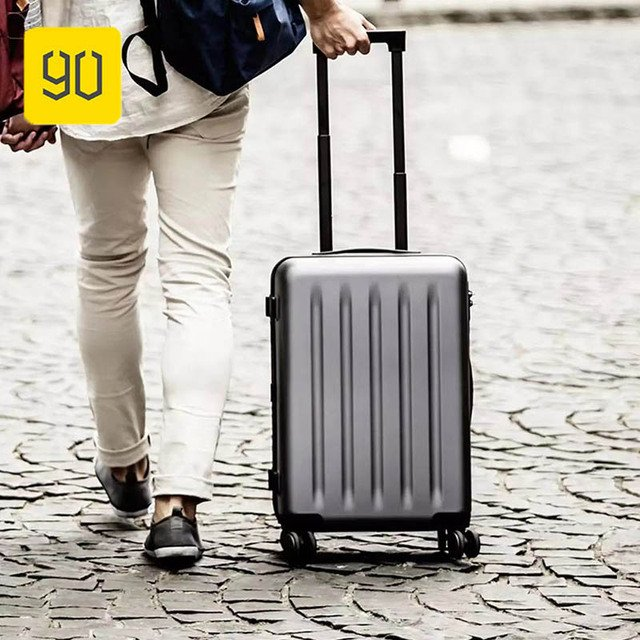 Xiaomi 90FUN Lightweight Aluminum Framed Suitcase PC Spinner Wheel Carry on Luggage,20 inch Travel Vacation