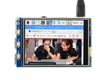 Touch Screen TFT Display 320x240 Resolution 125MHz High-Speed SPI Designed for All Version of Raspberry Pi Raspberry Pi 4 C Waveshare Raspberry Pi 3.2inch RPi LCD