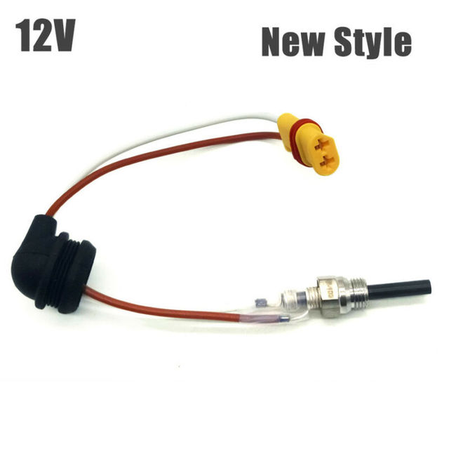 12V Ceramic Pin Glow Plug For Eberspacher D4 D4S Car Air Diesel Parking Heater 88-98W Glow Plug  Excellent thermal performance