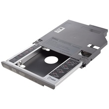 SATA 2-й жесткий диск HDD Bay Caddy адаптер для Dell Latitude D600 D610 D620 D630 серебристый