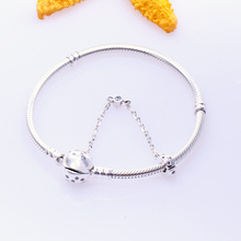 Authentic 925 Sterling Silver Limited Edition Moments True Uniqueness Bangle Fit European Charms Pan Bracelet For Women Jewelry