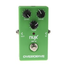 NUX OD-3 Overdrive Electric Guitar Effect Pedal True Bypass Warm tube natural overdrive sound Guitar Pedal High Quality