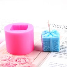 gypsum candles 3D silicone mold Anemon for soap chocolate Kawaii molds Flower Silicone mold