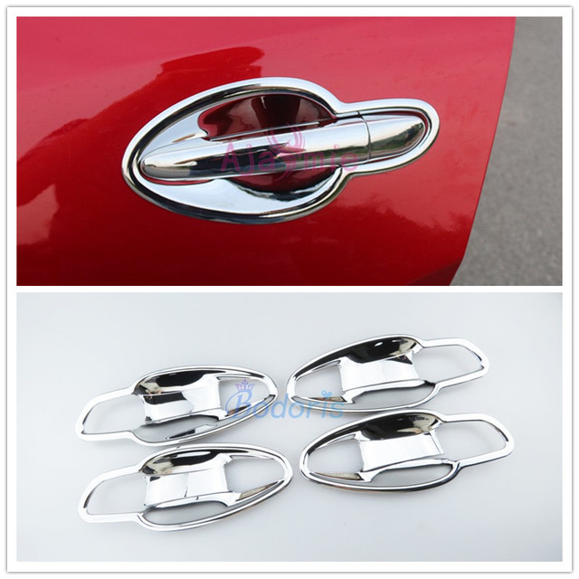 For Mazda Atenza 2014 2015 2016 2017 2018 Door Handle Cover Guarnish Trim Overlay Panel Chrome Car Styling Accessories