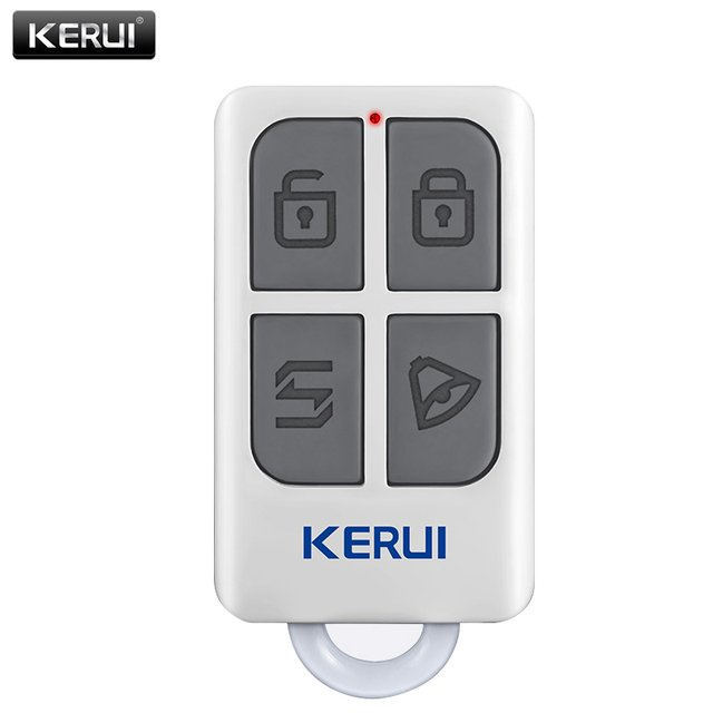 Kerui Smart Controller Alarm Alert Accessories Wireless Portable Remote Control For Kerui Gsm Pstn Home Security Alarm System Buy Inexpensively In The Online Store With Delivery Price Comparison Specifications Photos