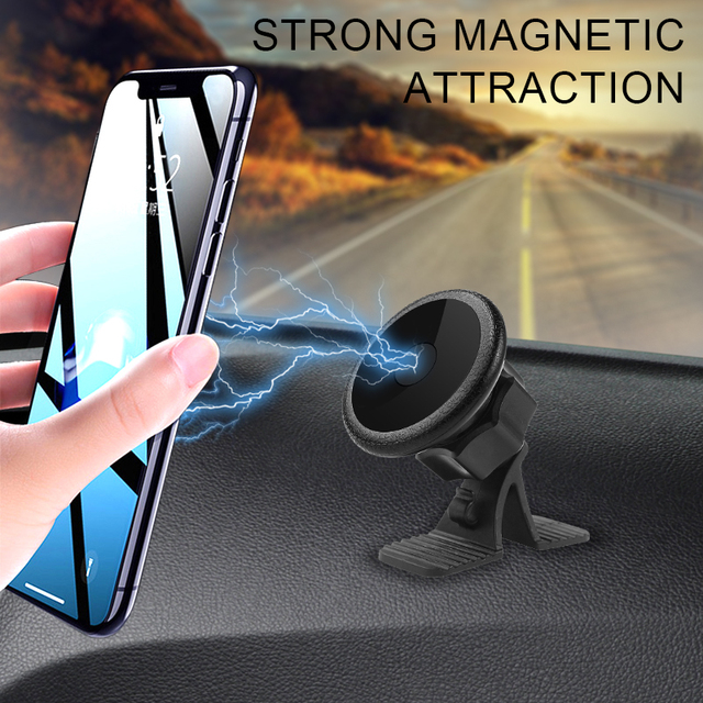 Universal Magnetic Car Phone Holder For iPhone 11 Pro 8 7 Samsung Xiaomi Redmi Huawei Mobile Cell Phone GPS Magnet Stand in Car