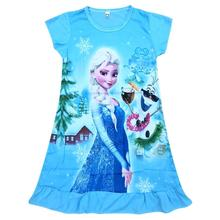 Girls Dress Christmas Elsa Dress Kids Dresses for Girls Vestido Infantil Children Clothing