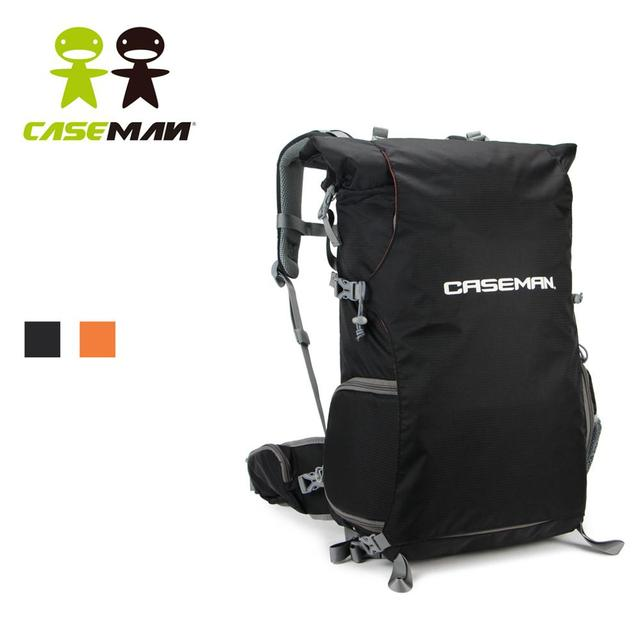 Caseman AOB2 camera backpack SLR DSLR Camera Case Bag Backpack With Rain cover for Canon Nikon Sony Black Outdoor Waterproof