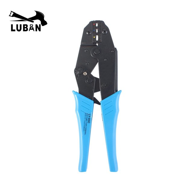 LY-03C wire stripper EUROP STYLE RATCHET crimping tool crimping plier 0.5-6mm2 multi tool tools hands