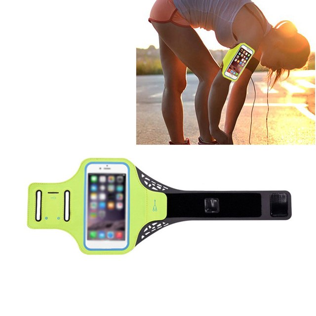 Transparent Touch Screen Armband Running Mobile Phone Arm Pack Sport Arm Bag Arm Pocket Fitness Universal Phone Arm Band Case