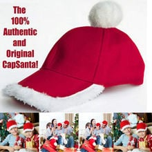 Red Christmas Hats Santa Hat Decor Hats for Children Adults New Year Gifts