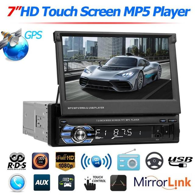 C500 SWM 9601G 7 inches Upgraded Car Stereo MP5 Player GPS Navi RDS AM FM Radio Head Unit support Android phones and USB 2.0
