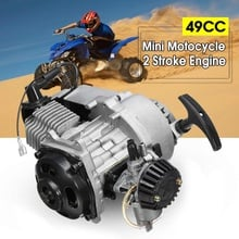 49cc 2-Stroke CDI Hand Pull Start Engine Motor For Pocket Bike Mini Dirt Bike ATV Scooter