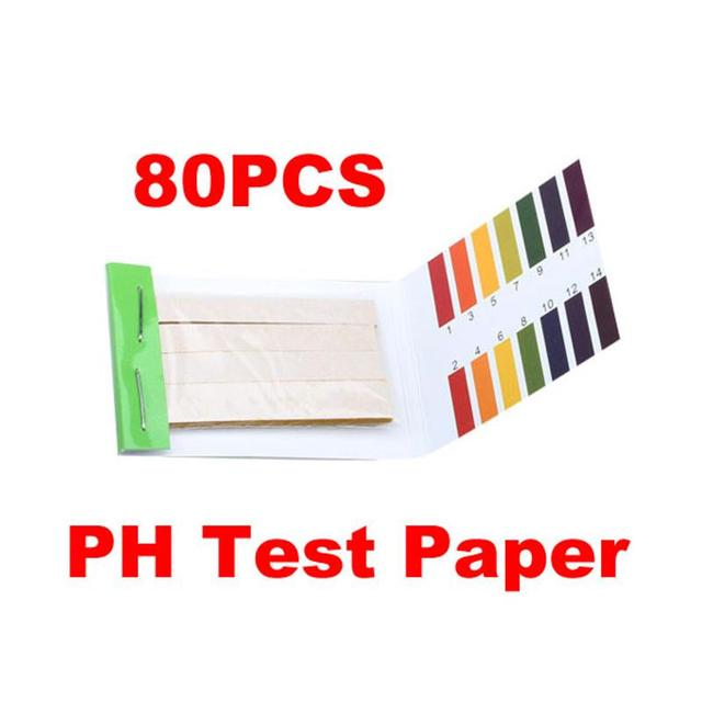 80 Strips PH Meters Indicator Paper PH Value 1-14 Litmus Testing Paper Kit to maintain good healthy body