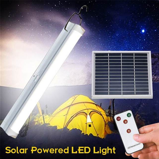 30 LED Bulb Solar Light  Outdoor Garden Remote Control Solar Panel Lamp Waterproof Emergency Lighting Camping Floodlight