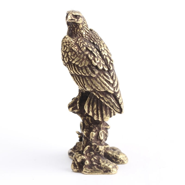 China'S Archaize Eagle Small Statue Valuable Collection Of Beautiful Bronze Statues