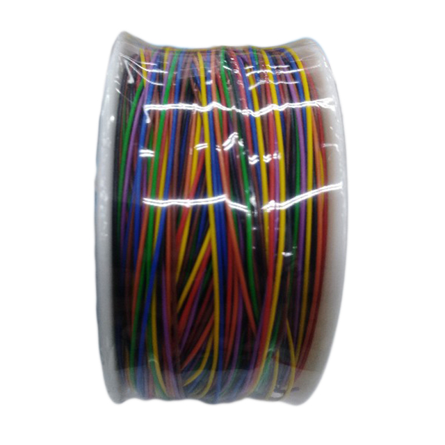 30AWG 0.5mm PCB Flying Jumper Wire OK Line Wrapping Wrap Flexible Insulation Tin-plated 8 Colors Single Conductor