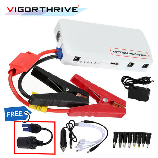 Multi-function Mobile Laptop Car Battery Charger Rechargeable Battery Car Jump Starter Power Bank For Cars Emergency Charger