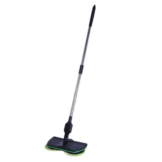 New Hot Stainless Steel Chargeable Electric Mop Hand Push Sweeper Cordless Household Cleaning Tools Sweeping Machine Eu Plug