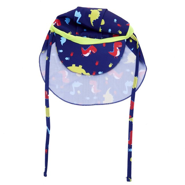 Kids boys and girls Sun Protection Sporty Flap Swim Hat UV Flap Cap