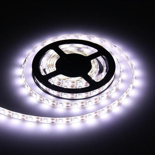 50CM 1M 2M Battery Powered LED Strip 3528 SMD Waterproof Flexible LED Strip String Light Warm White Cool White RGB