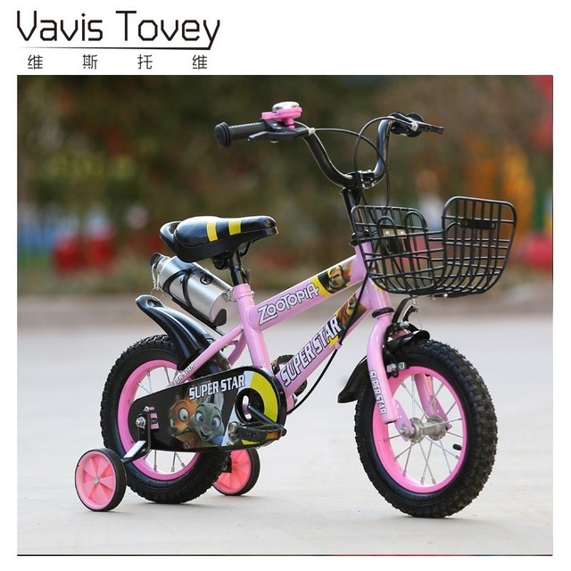 Children Bicycle Aluminum Alloy Frame 12/14/16/18 inch Wheel 2/3/4/5/6/7/8 Years old Boy/Girl Baby Sports Bike