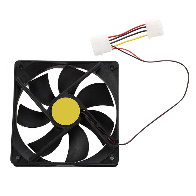 120mm x 25mm DC 24V 4Pin Sleeve Bearing Computer Case Cooling Fan
