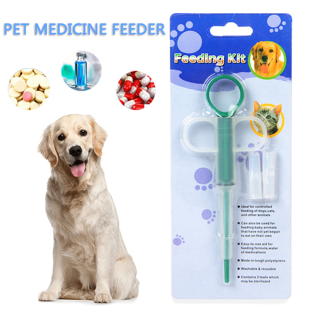 Hot Sale 1Pc Pet Dog Cat Puppy Pills Feeding Medicine Given Medicine Control Rods Home Universal Pet Feeder