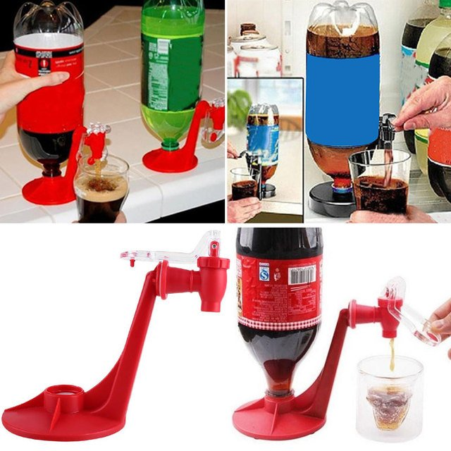 1PC Handy Coke Juice Dispenser Water-drinking Machine Gadget Party Home Resturant Kitchen Coke Beverage Water Drinking Tools