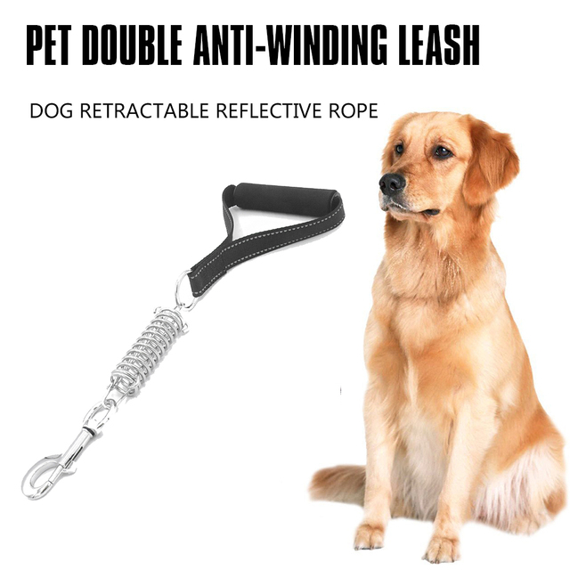 High quality Short Dog Leash with Traffic Handle for Large Dogs Great for Double Dog Couplers Service Dogs and Traini
