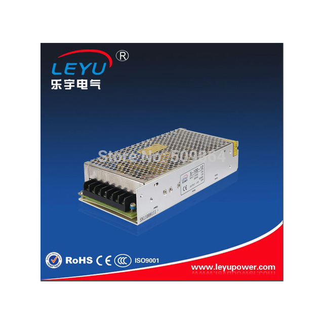 High efficiency security equipment  S-100-12 single output 12v  115VAC switching power supply