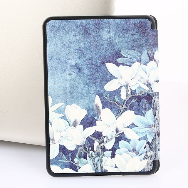 PU+PC Tablet Case E-Book Cover Protective Case Smart Slim for Kindle Paperwhite4 2018 Cover