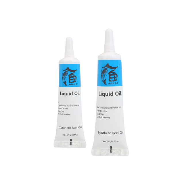 2PCS/Set Lubricate Oil And Lubricate Grease For Fishing Reel Line Lubricant Grease+Oil Metal Gear Bearing Maintenance Tool