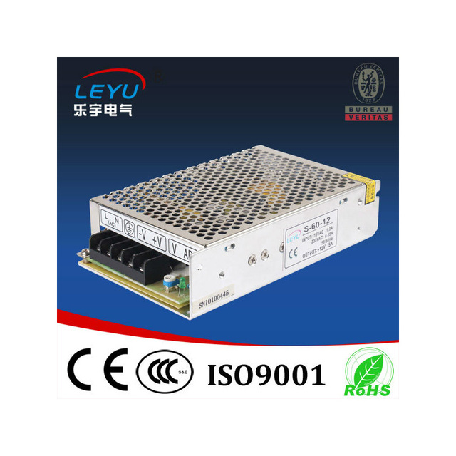 SMPS  60W Switching Power Supply  With CE RoHS Certification S-60-12 60W dc smps power