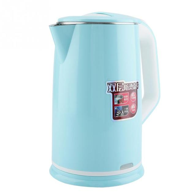 Household Electric Kettle Stainless Steel Smart Constant Temperature Control Water Kettle Boiler Quick Heating Appliance 2L 220V